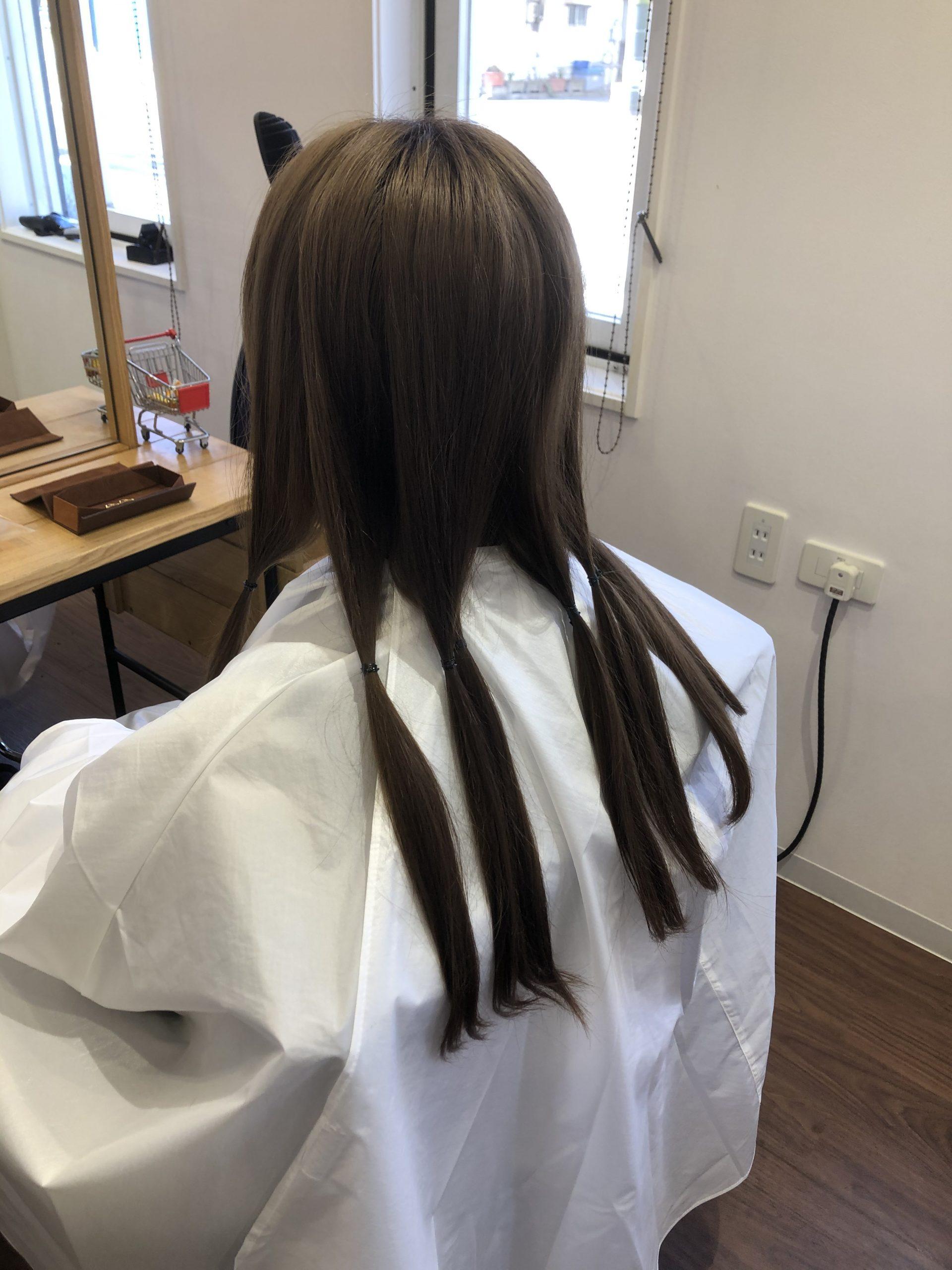 """髪の毛の寄付、""""ヘアドネーション"""""""